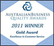 Australian Quality Business Award 2011
